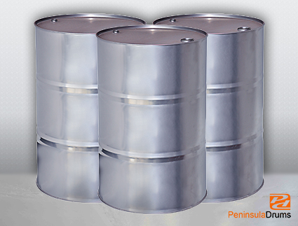 Peninsula Drums Products Open Top Cylindrical Drums